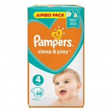 Pampers Sleep & Play Подгузники Maxi 4 (9-14 кг), 68 шт