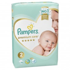 Pampers Premium Care Подгузники Mini 2 (4-8 кг) 66 шт