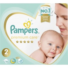 Pampers Premium Care Подгузники Mini 2 (4-8 кг) 102 шт